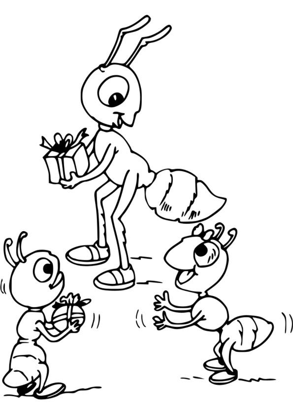 dessin d'insectes