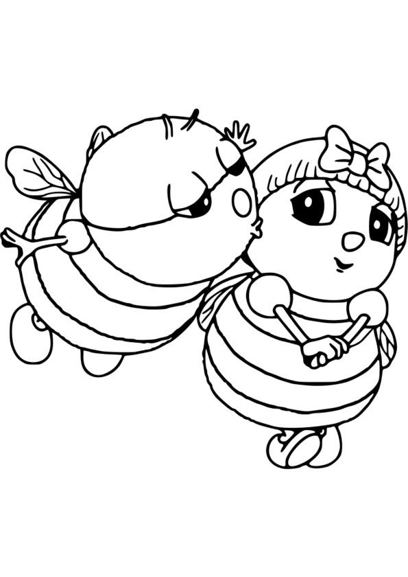 dessin insectes