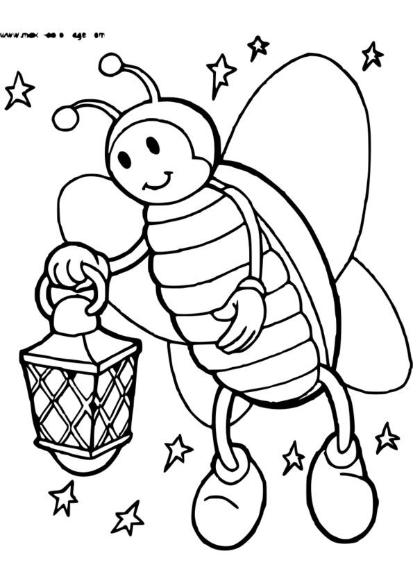 coloriage d'insecte en ligne