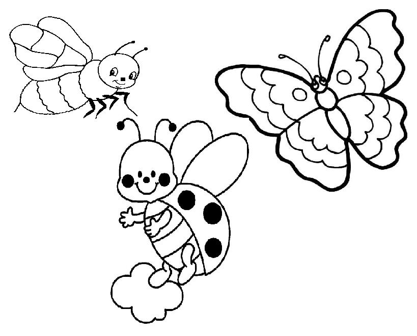 99 dessins de coloriage insectes jardin imprimer - Coloriage insecte ...