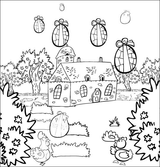 Coloriage animaux jardin meilleures id es coloriage pour for Jardin dessin
