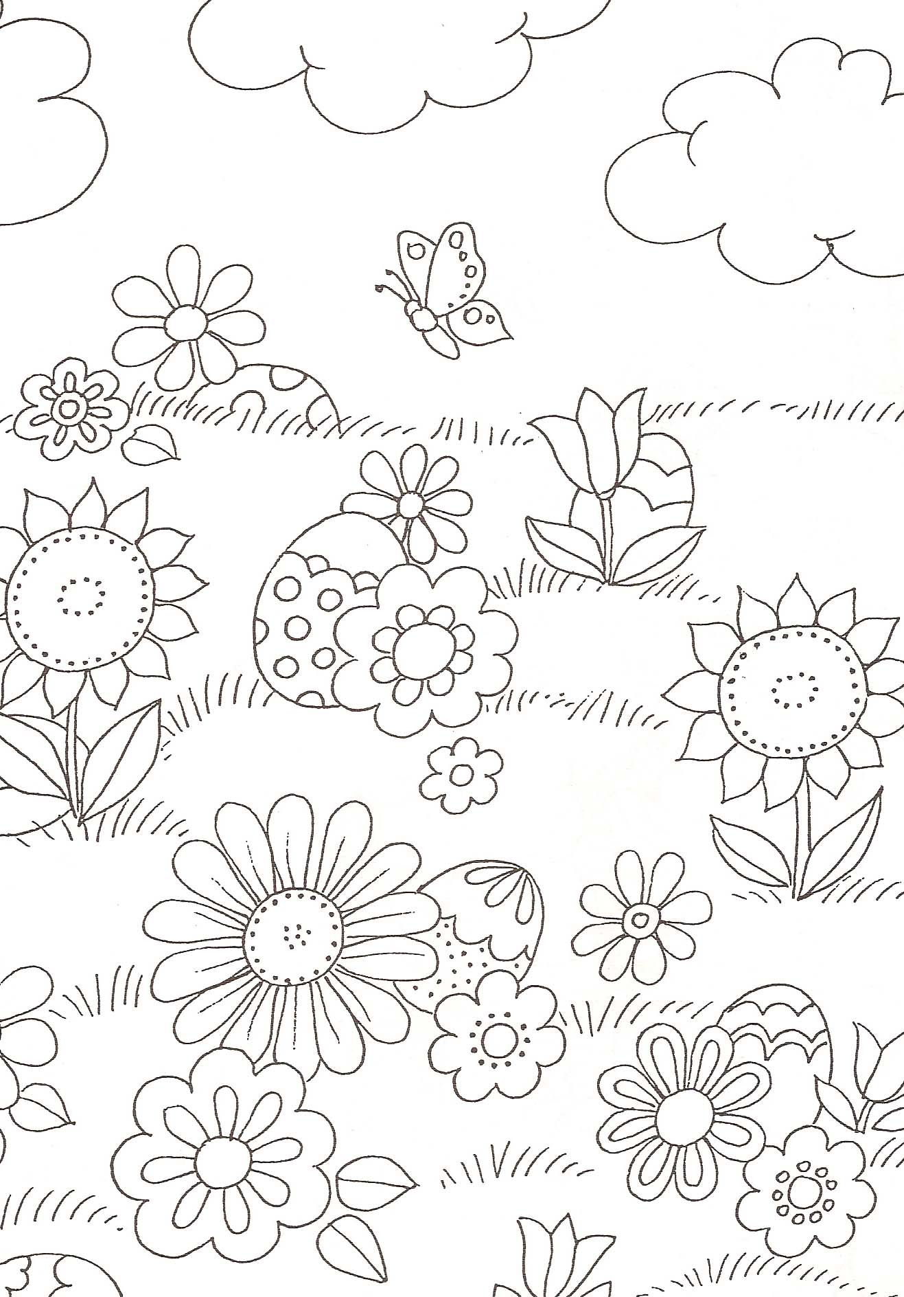 99 dessins de coloriage insectes jardin imprimer. Black Bedroom Furniture Sets. Home Design Ideas