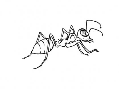 102 dessins de coloriage insectes imprimer - Dessin d insectes a imprimer ...