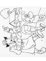 dessin � colorier a imprimer gratuit inspecteur gadget