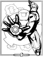 dessin iron man dessin animé