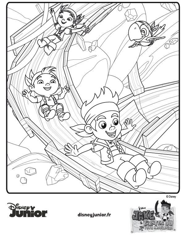 3 dessins de coloriage jack et les pirates du pays - Jack et le pirate ...