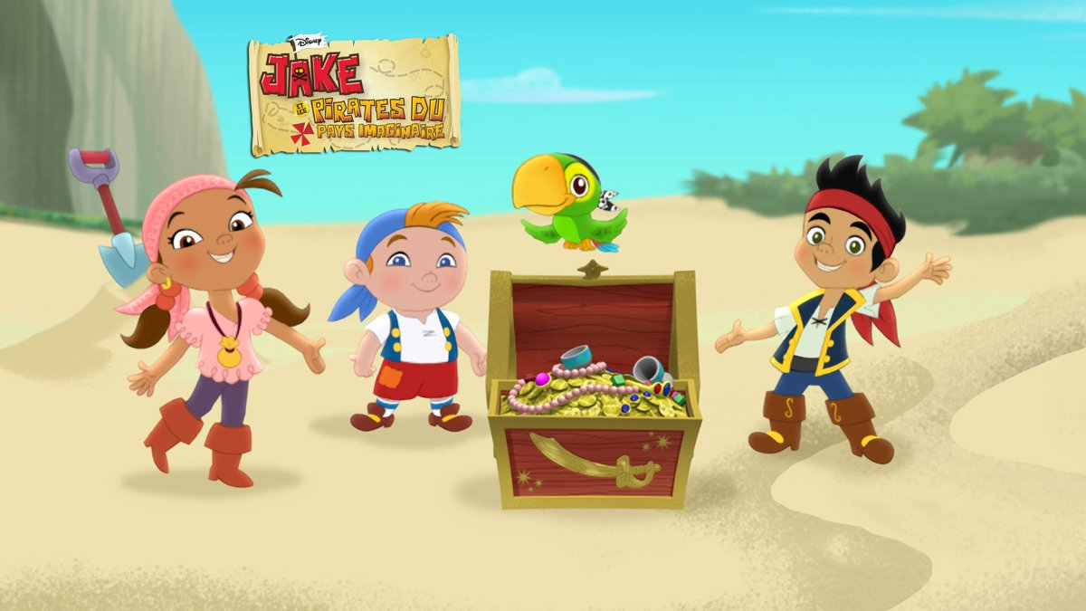 9 dessins de coloriage jack et les pirates imaginaires imprimer - Jack le pirate dessin ...