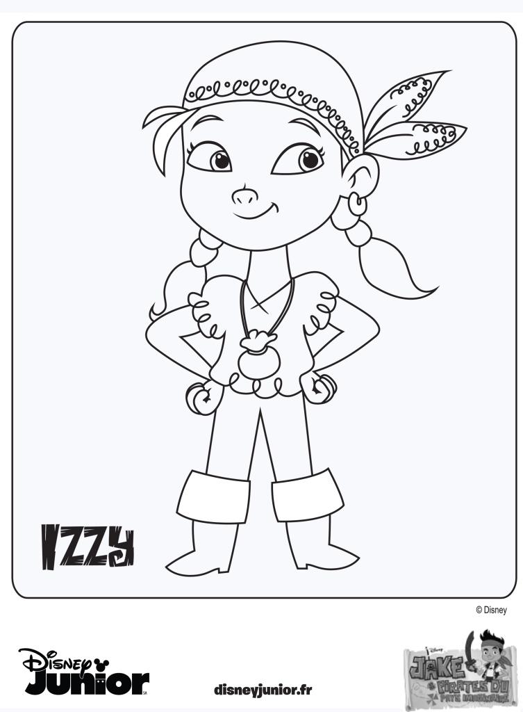 jeux de dessin à colorier jack et les pirates