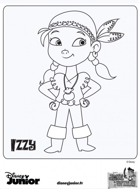 Coloriage jack le pirate disney - Coloriage jack le pirate ...