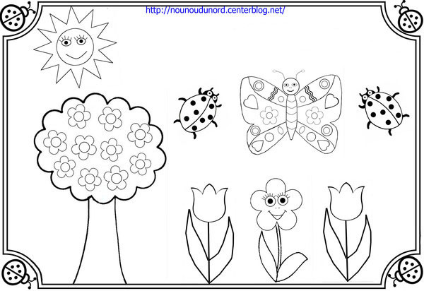 25 dessins de coloriage jardin imprimer. Black Bedroom Furniture Sets. Home Design Ideas