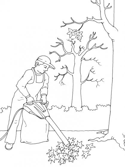 35 dessins de coloriage jardinier imprimer - Dessin jardinier humoristique ...