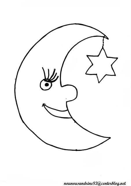 134 dessins de coloriage jour nuit  u00e0 imprimer