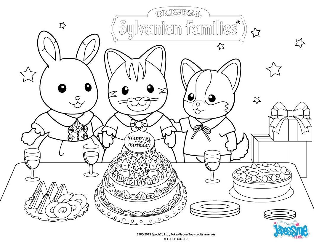 coloriage ƒ dessiner joyeux anniversaire ƒ imprimer