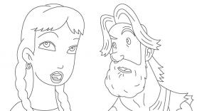 dessin à colorier jumanji