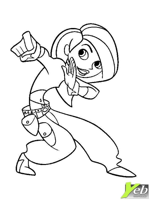 coloriage � dessiner a imprimer karat� kid