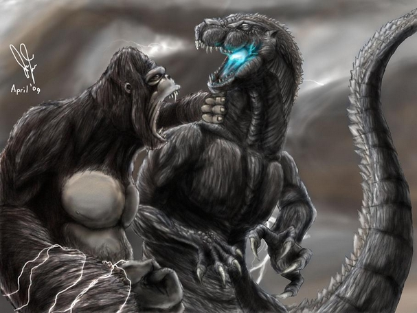 dessin � colorier de king kong