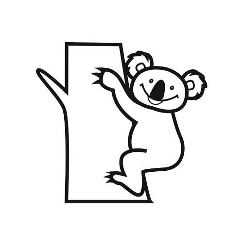 coloriage koala gratuit