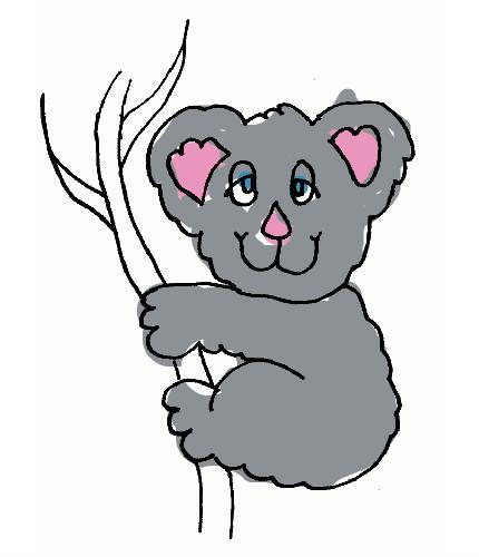 dessin koala en ligne