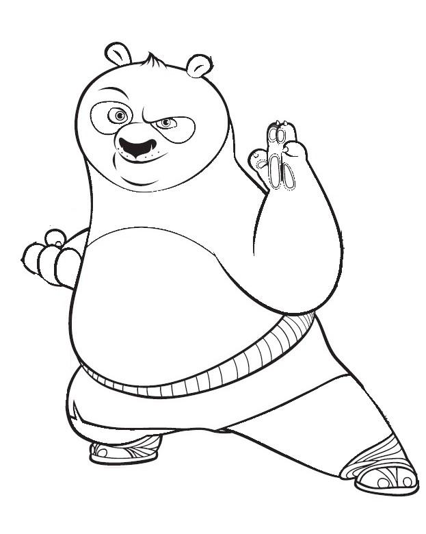 19 dessins de coloriage kung fu panda imprimer - Coloriage a imprimer kung fu panda ...