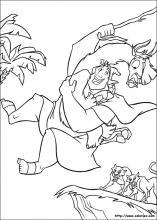 coloriage � dessiner de kuzco