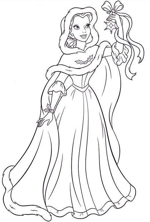 20 dessins de coloriage la belle et la b te en ligne imprimer - Coloriage de walt disney ...