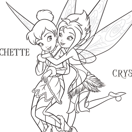 Coloriage la fee clochette a imprimer gratuit - Dessins fee clochette ...
