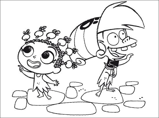Coloriage dessiner de la famille pirate a colorier - Dessin anime de la famille pirate ...