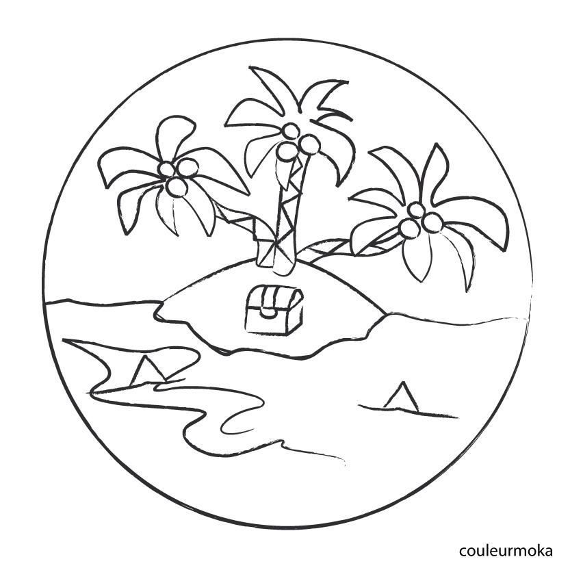 la famille pirate coloriage � dessiner gratuit
