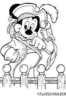 dessin a imprimer gratuit la famille pirate