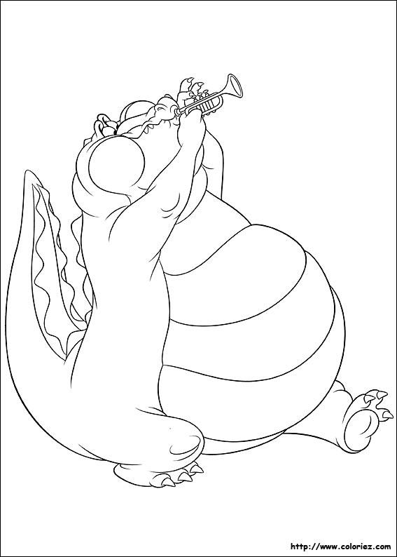 dessin la princesse et la grenouille gratuit