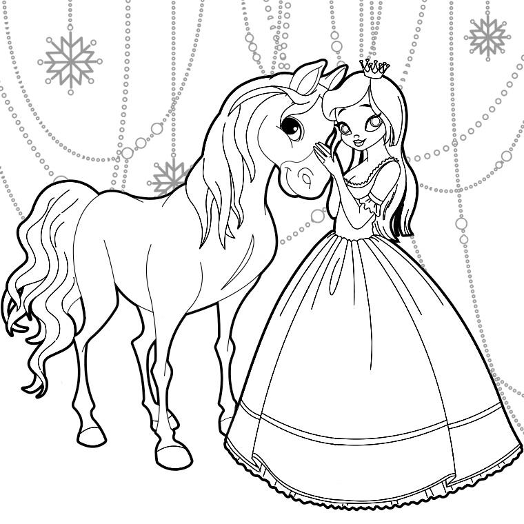 15 dessins de coloriage la reine des neiges en couleur - Coloriage princesses ...