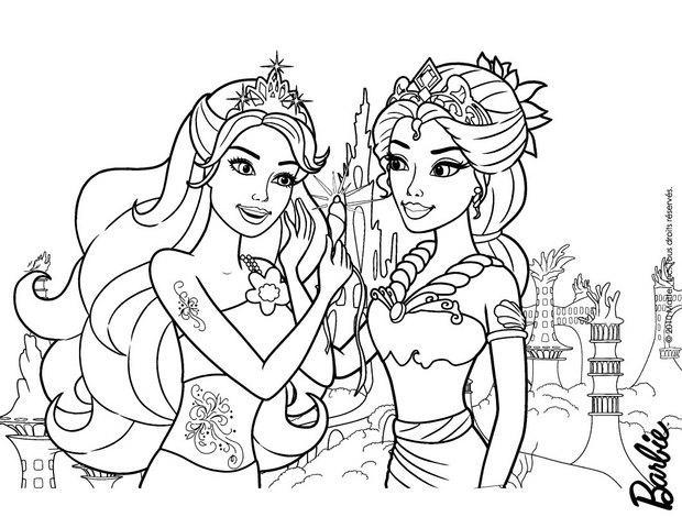 20 dessins de coloriage La Reine