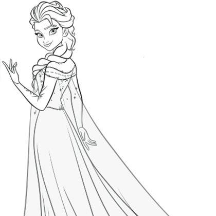 18 dessins de coloriage la reine des neiges en ligne imprimer - Coloriage en ligne la reine des neiges ...