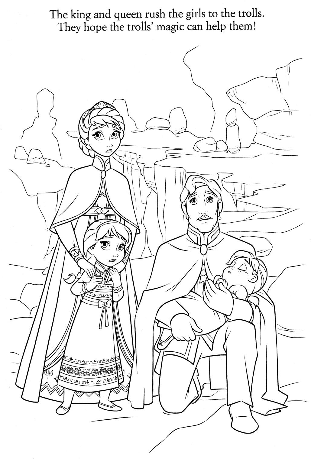 19 dessins de coloriage la reine des neiges olaf imprimer - Le dessin de la reine des neiges ...