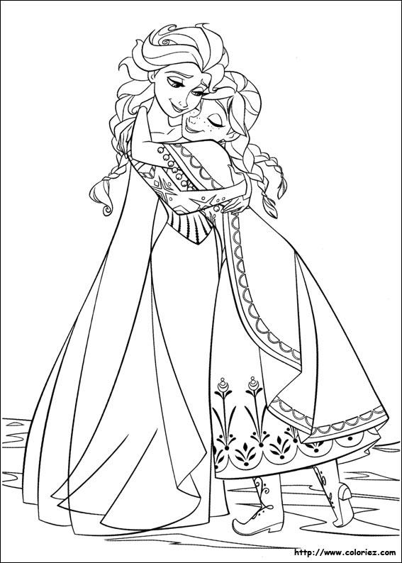 Coloriage dessiner la reine de neiges imprimer - La reine des neiges imprimer ...
