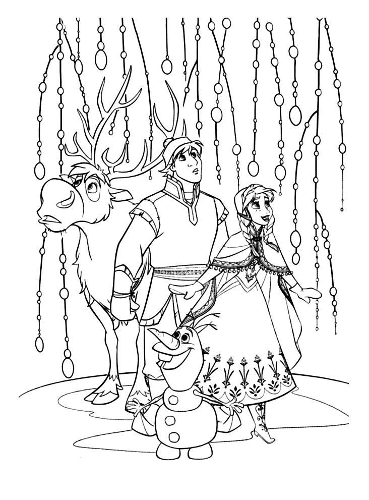 jeu de coloriage à dessiner la reine des neiges