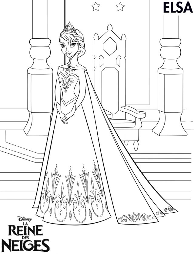 jeux de coloriage la reine des neiges en ligne