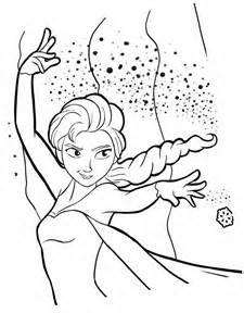 dessin à colorier la reine des neiges pdf