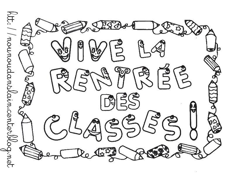 Inspirational Coloriage Classe Maternelle élégant Coloriage