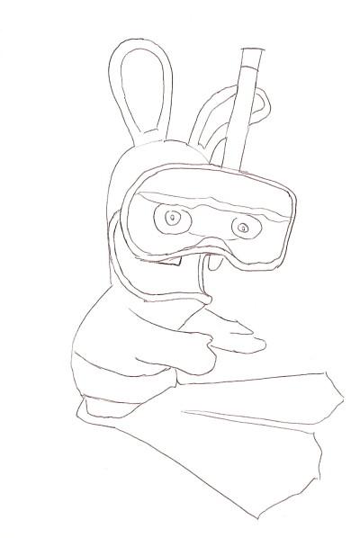 15 dessins de coloriage lapin cretain gratuit imprimer - Lapin cretain gratuit ...