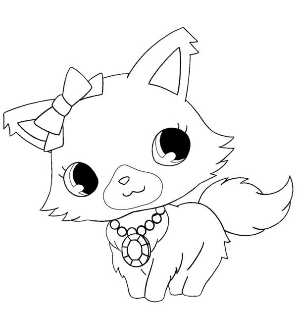 dessin à colorier lapin crètin a imprimer