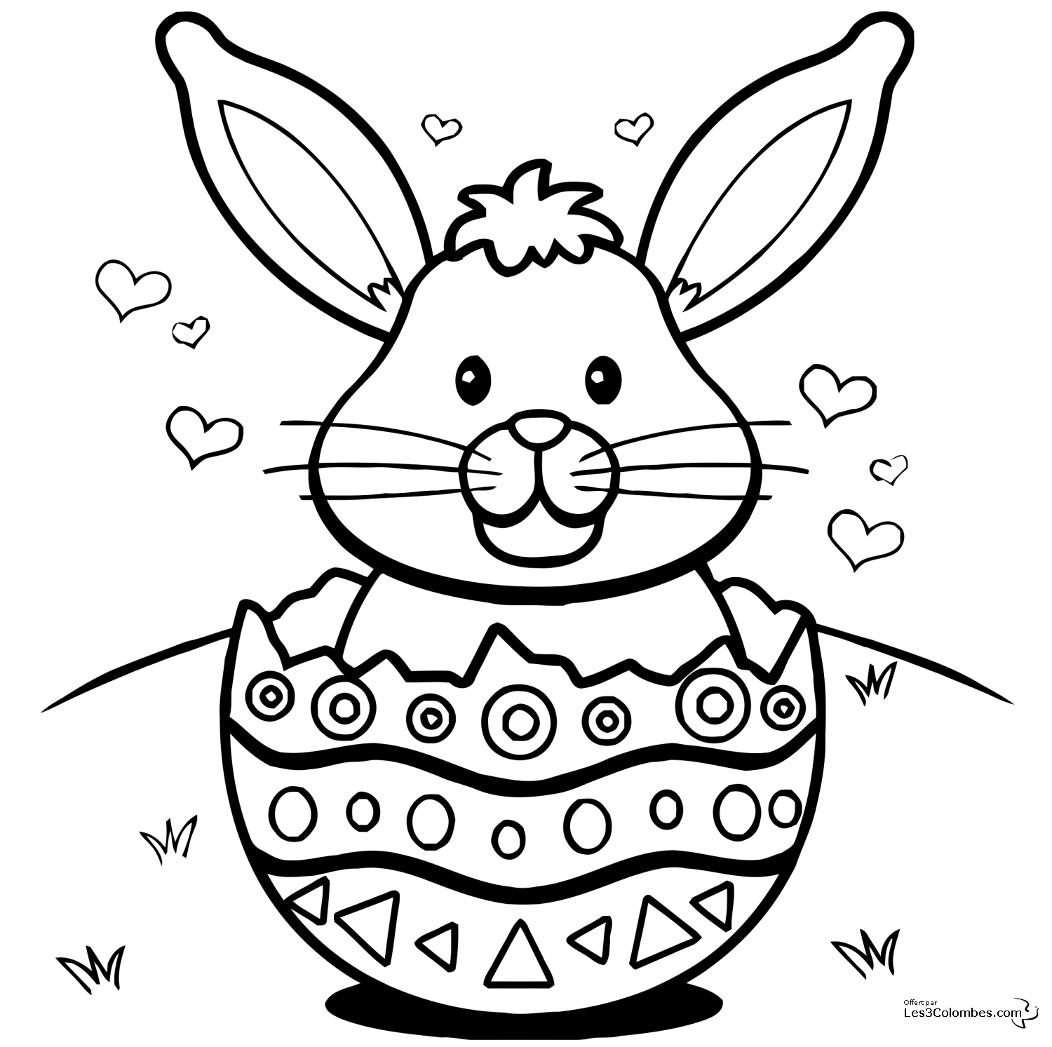 Coloriage singe related keywords suggestions coloriage - Coloriages lapin ...
