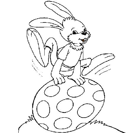 20 dessins de coloriage lapin de paques a imprimer imprimer - Photo de lapin a imprimer ...