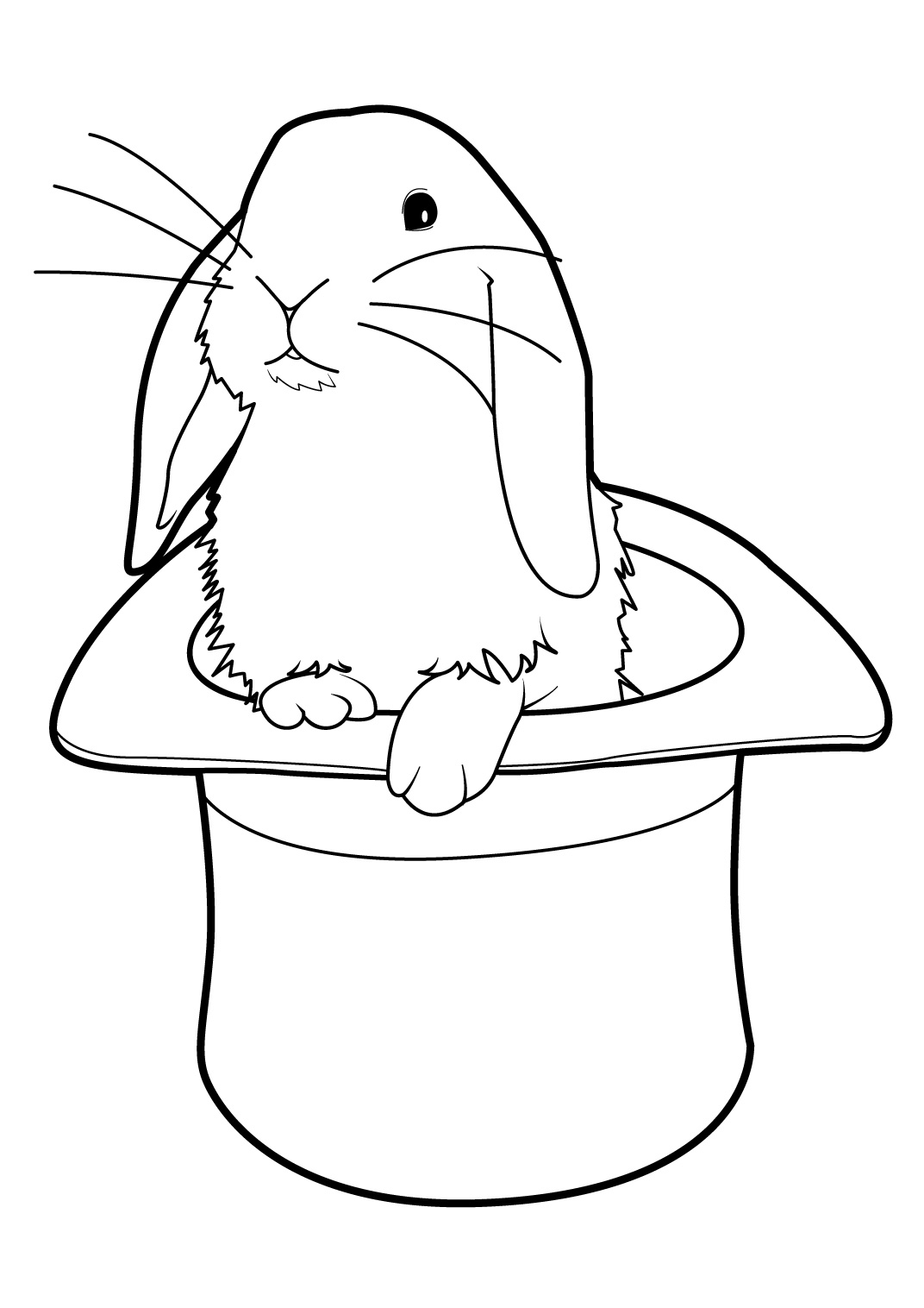 Coloriage simon lapin - Coloriages lapin ...