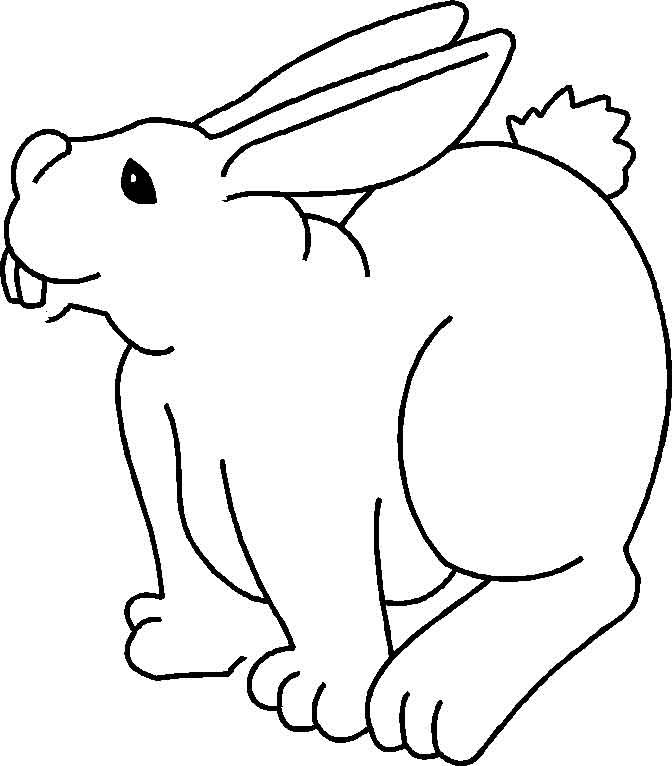 coloriage lapin disney