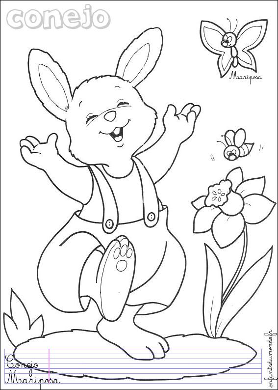 Coloriage en ligne lapin de paques - Coloriage paques en ligne ...