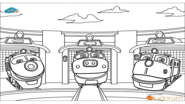 dessin à colorier d'un lavabo