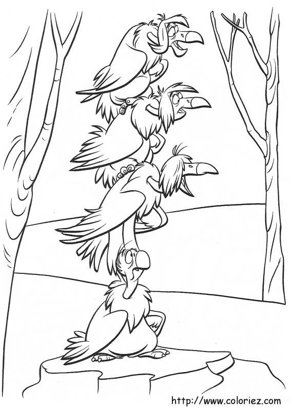 Imprimer coloriage dessiner le livre de la jungle - Le livre de la jungle coloriage ...