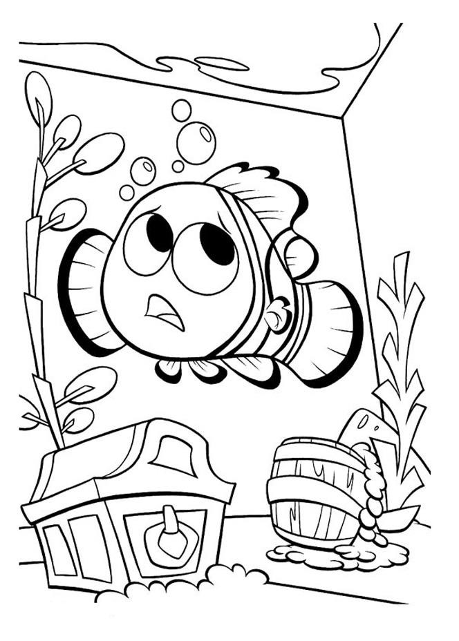 129 dessins de coloriage Le Monde de Nemo imprimer