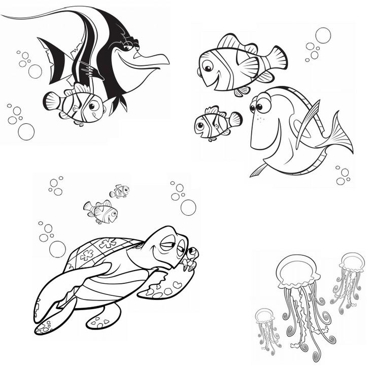 129 dessins de coloriage le monde de nemo imprimer - Coloriage le monde de nemo ...